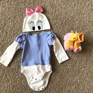 (EUC) Disney Daisy Duck baby costume sz 12/18 mo